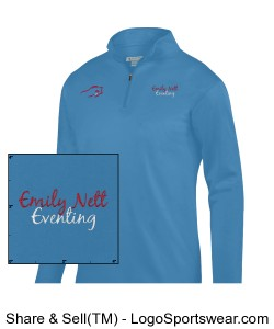 Youth moisture wicking fleece pullover Design Zoom
